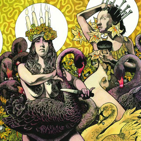Baroness - Green & Yellow  This double album from the Georgia quartet moves from pulsating heavy guitars to soft delicate textures that would easily fit in an episode of  Game of Thrones  or a Baroque period film.  But unlike their previous albums, this one finds Baroness a bit more upbeat, almost happy, if that could be conceived. I love both parts of this double album equally, and it's in my permeant rotation for use during my marathon photo editing sessions.  Must listen track: March to the Sea