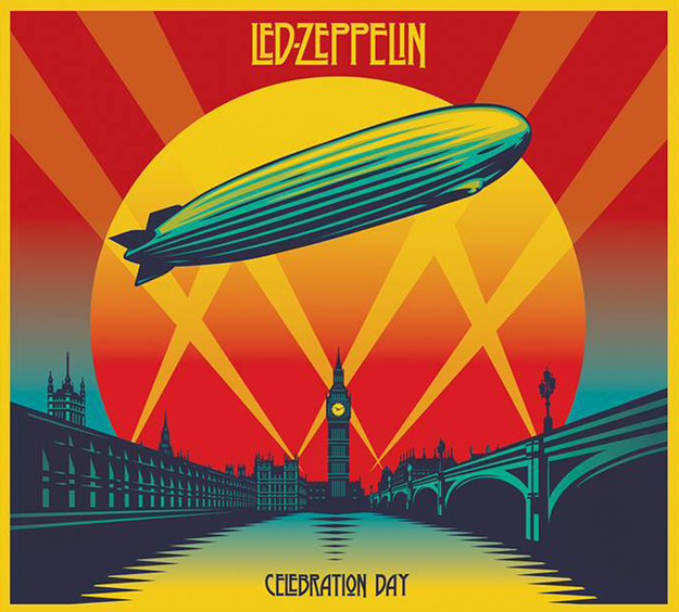 Led Zeppelin - Celebration Day  The live album that captures their one and only reunion show from 2007 at London's O2 Arena, and it sounds like they've never missed a beat. With Jason Bonham filling his father's shoes on drums, the entire show is a catalog of Zeppelin's greatest hits blasted just like they were when the band was at it's prime. The audio is amazing, but the accompanying Bluray/DVD pushes it over the top.   Must listen track: The whole damn thing.
