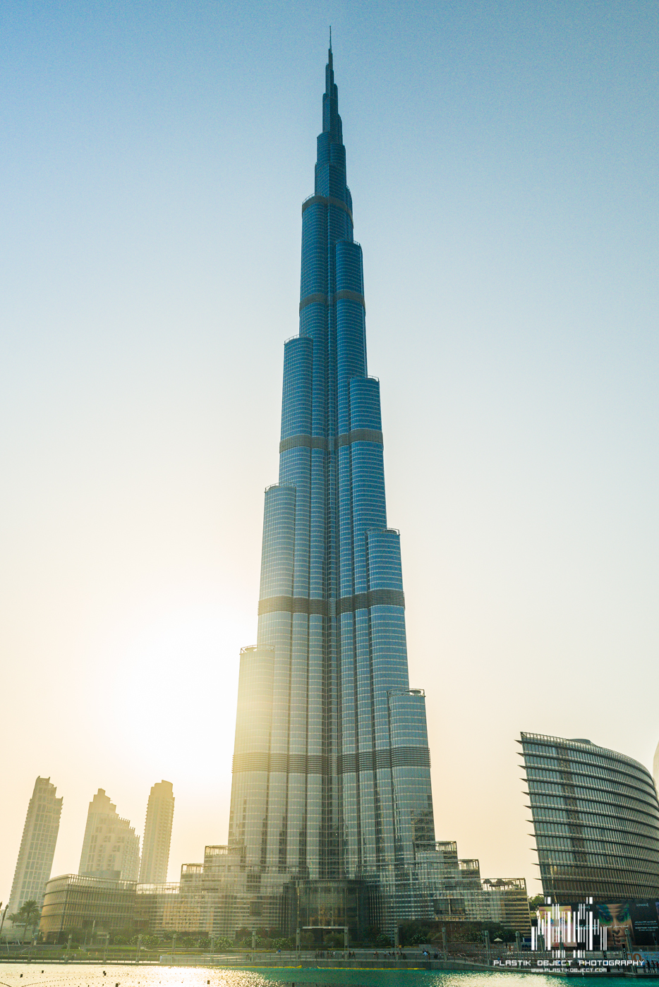 The Burj Khalifa, the tallest building in the world.