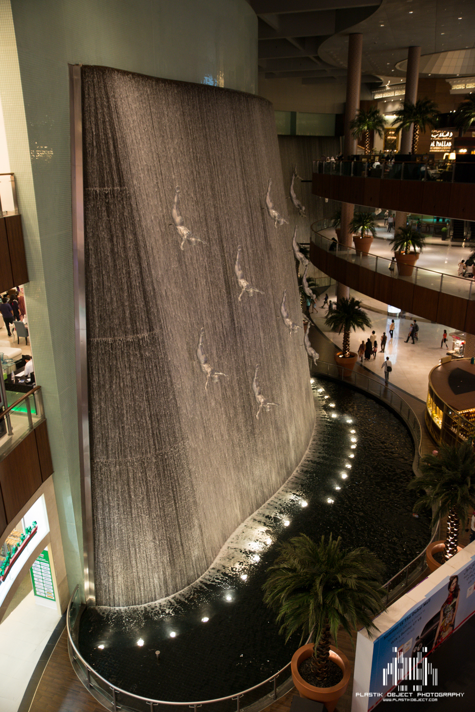 I seriously don't think I ever saw all of this fountain in it's entirety.