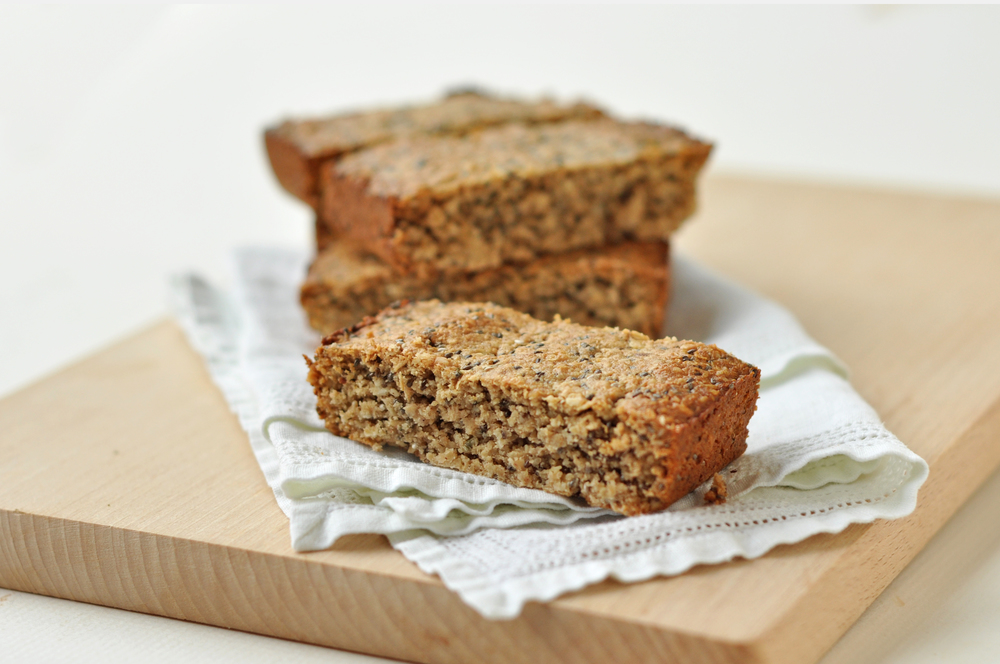 """A flapjack packed full of seeds to give great texture and a protein boost keeping you full for longer!"""