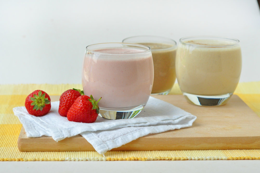 Creamy Smoothie - 3 Ways