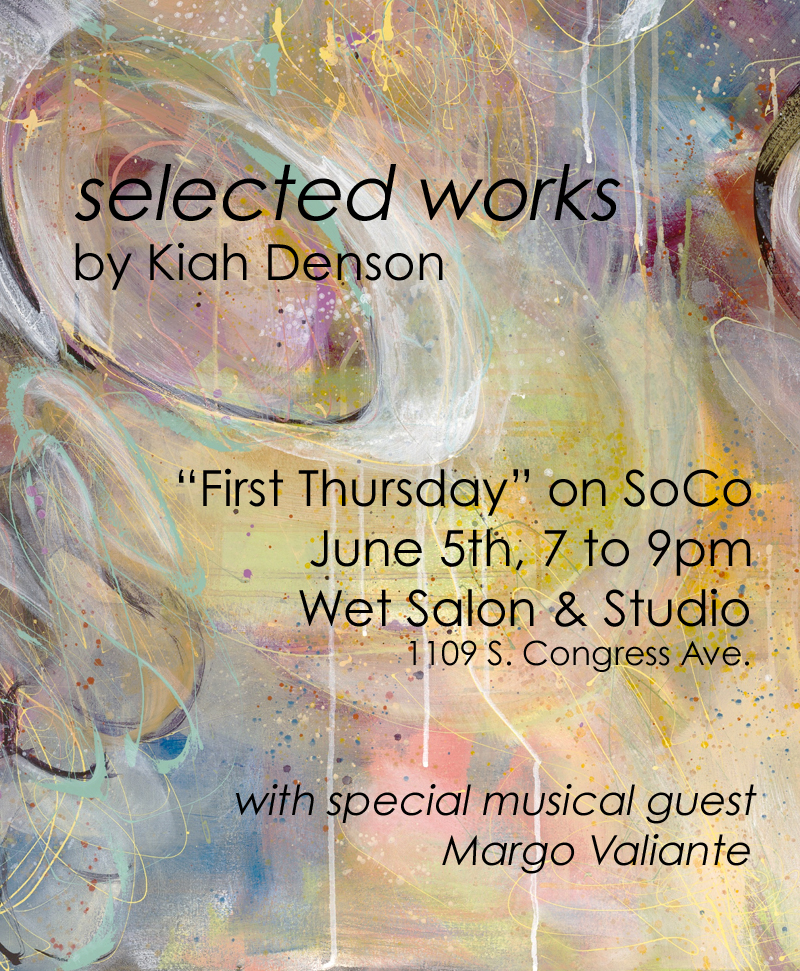 June 2014 Solo Show at Wet Salon