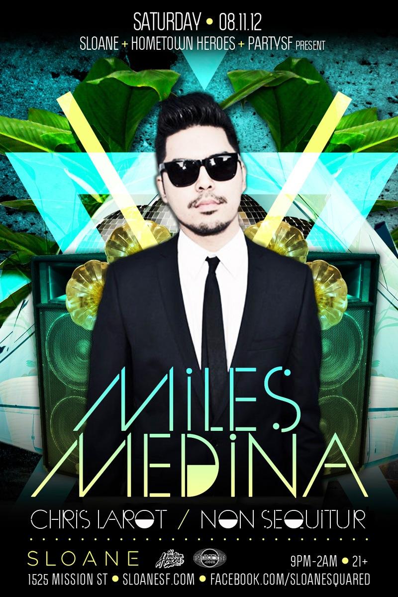 Miles Medina Non Sequitur Sloane SF