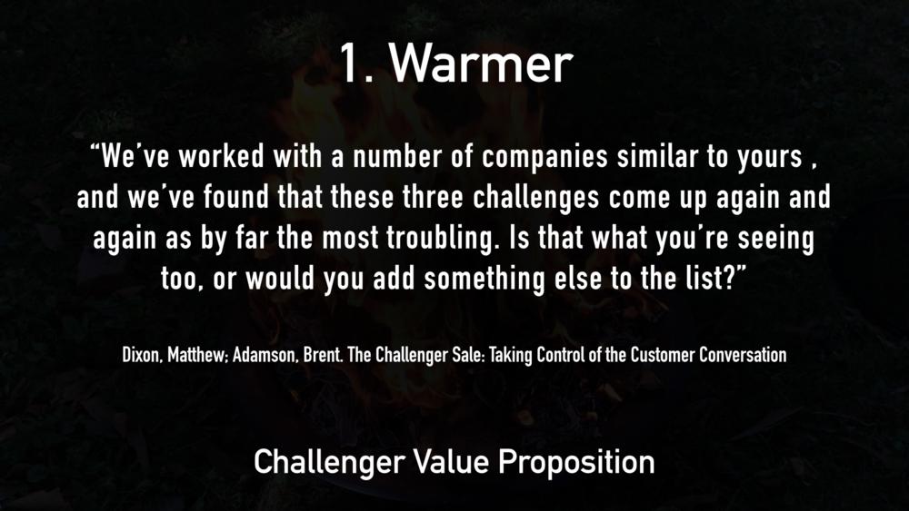 1. Warmer