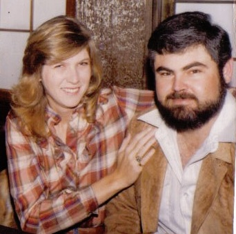 My mom and dad sometime in the early 80s.