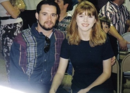 Scott and I, a few months after we met in 1997.