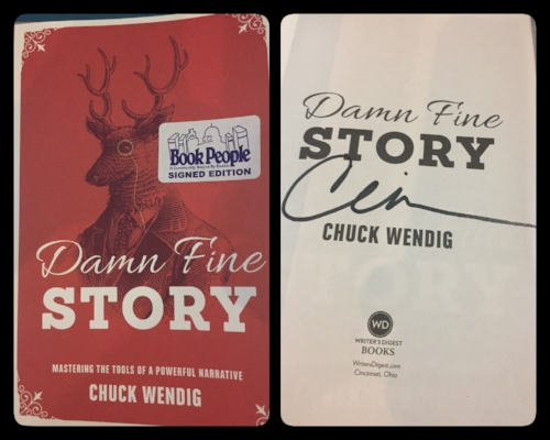Damn Fine Story by Chuck Wendig. Book purchased at  Book People * in Austin, Texas. *Best book store EVER* Post contains affiliated links.