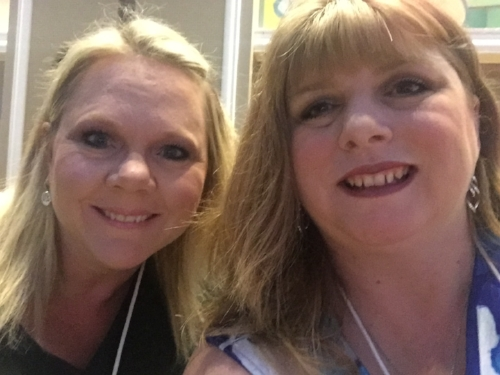 Genny and I at RWA in 2017