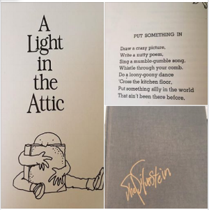 A light in the attic by shel silverstein.
