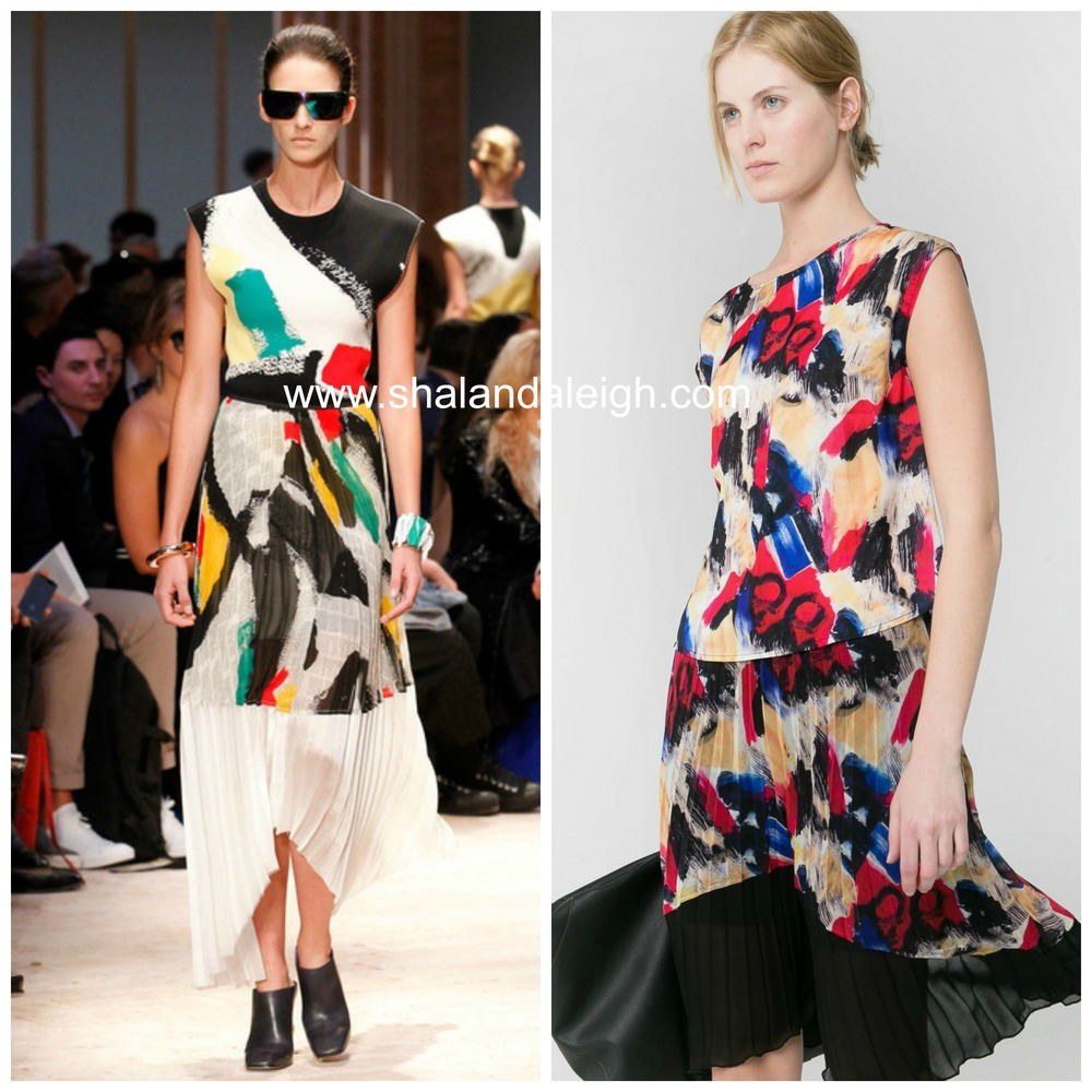 #7: The Look for Less: Céline Spring 2014 RTW Graffiti Top and Skirt www.shalandaleigh.com.jpg
