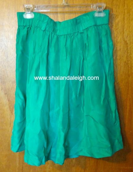 Silk Emerald Green Shorts - www.shalandaleigh.com.JPG