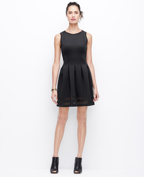 Ann Taylor's Laser-Cut Dress , $149