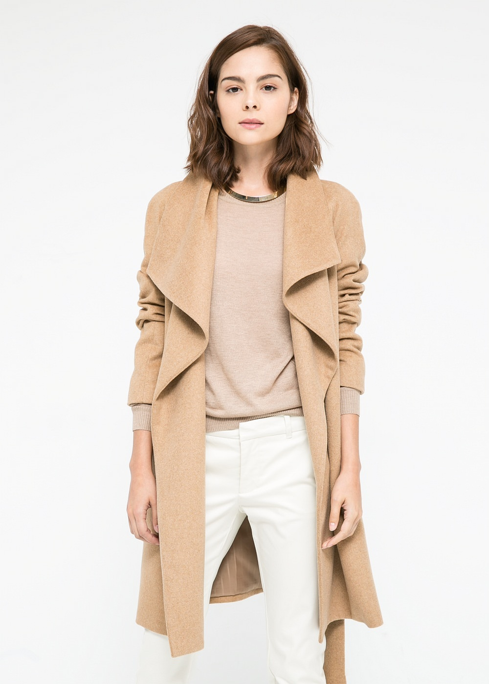 #34: Retail Therapy: Mango's Lapels Wool-Blend Coat