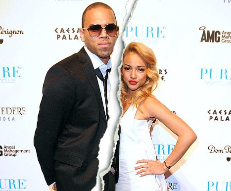 Chris Brown and  Karrueche Tran Break-up