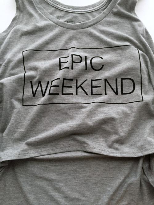Epic Weekend Hi-Lo Tank