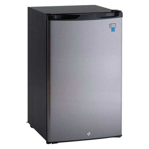 Compact Refrigerator with Door Lock