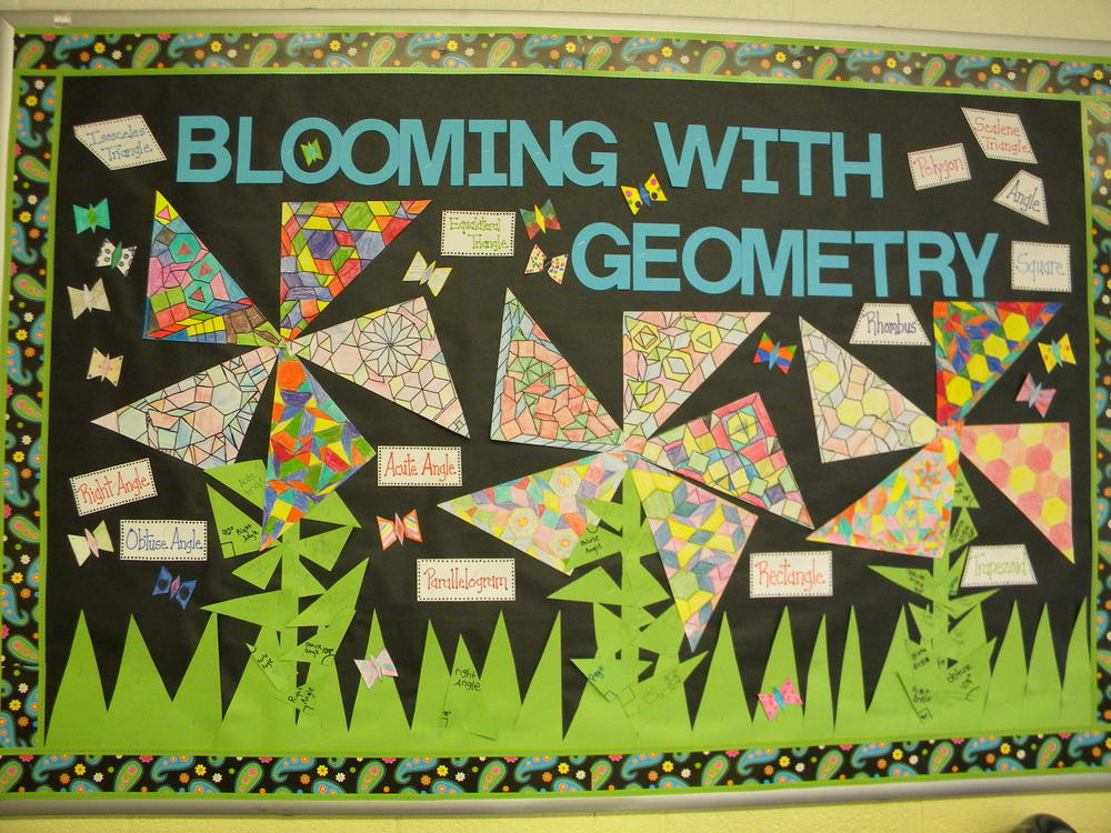 Blooming with Geometry
