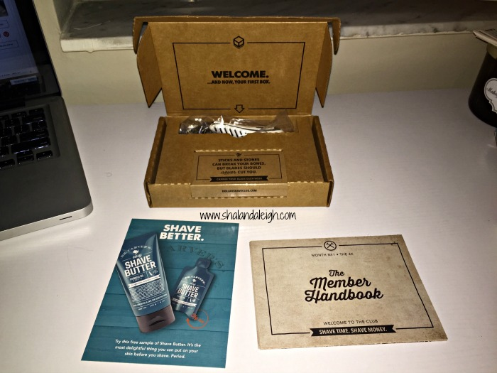 I Joined the Dollar Shave Club: Initial Review 2 - www.shalandaleigh.com