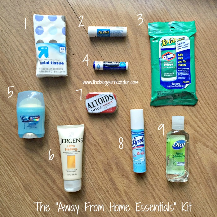 "The ""Away From Home Essentials"" Kit 2 - www.thebloggernextdior.com"