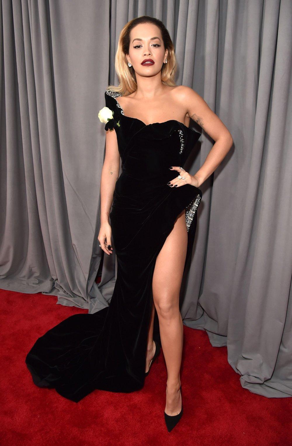 Grammys Awards 2018 - Rita Ora in Ralph & Russo.jpg