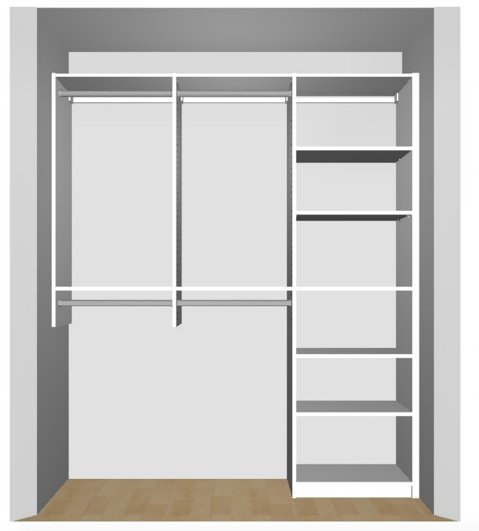 Second Bedroom Closet