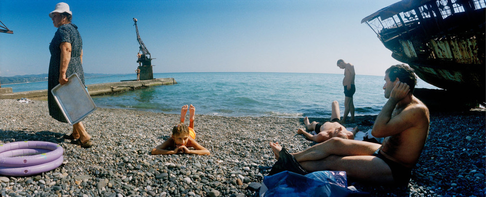 "Photo: From the series ""Waiting for the future - pictures from Abkhazia"" by Jens Olof Lasthein, Sweden."