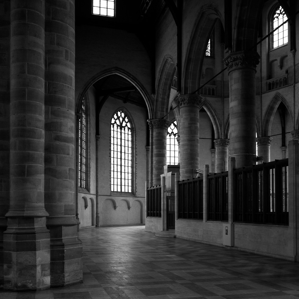 Photo: The interior of the Laurenskerk in Rotterdam, by Barend Jan de Jong (Leica M9, Summicron 28mm).