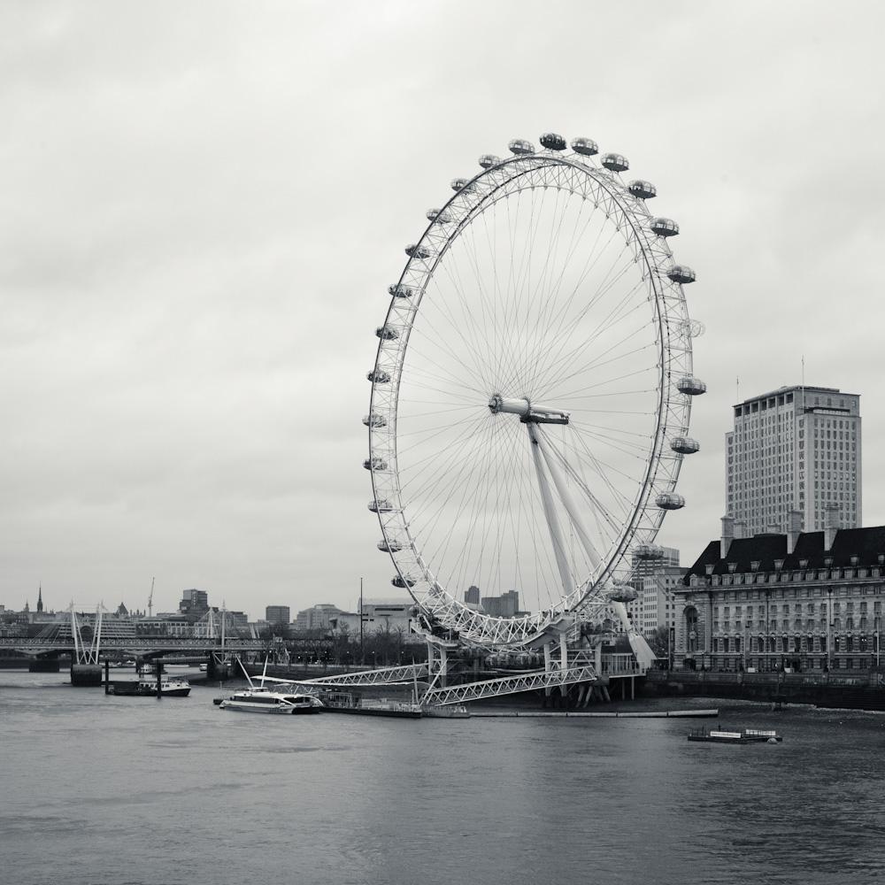 Photo: Londen Eye - Millenium Wheel, by Barend Jan de Jong (Leica M9, Summicron 28mm).