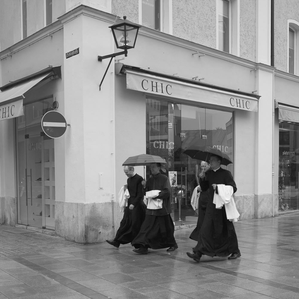 Photo below: Chic - Ascension Day in Regensburg (2010), by Barend Jan de Jong.