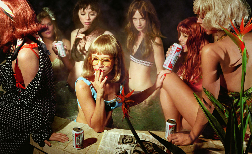 "Photo: Susie and Friends, from ""The Big Valley, 2008"" series by Alex Prager."