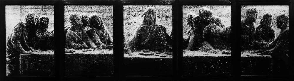 Black Supper, Andres Serrano, 1990