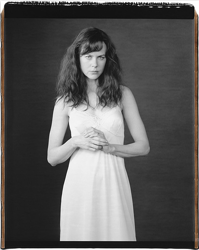 Photo: Nicole Kidman on the set of  Fur , New York 2005, by Mary Ellen Mark.
