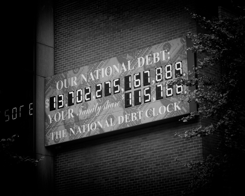 Photo: US National Dept Clock on October 31, 2010, photo by Barend Jan de Jong (Leica M9, Summicron 50mm).