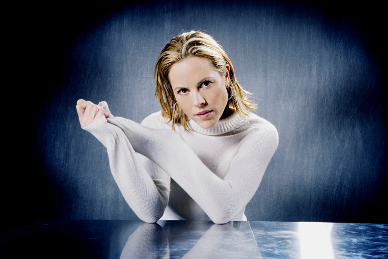 Photo: Maria Bello, by Pieter Henket.