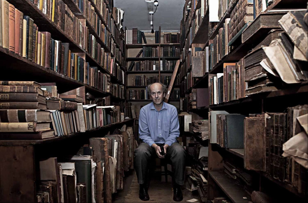 """Photo: """"Ed Maggs, Maggs Books London"""", from the series """"The London Book Trade"""", by Mike Tsang."""