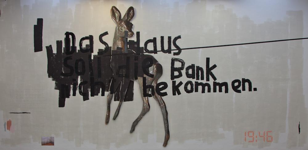Photo:Das Haus soll die Bank nicht bekommenby Birgit Brenner, photo by Barend Jan de Jong (Canon 5D mkII, Canon EF 24-105mm f/4L IS USM).