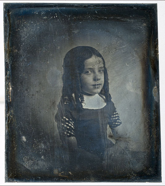 Photo: Charlotte Asser, the oldest known Dutch Daguerreotype, by Eduard Isaac Asser.