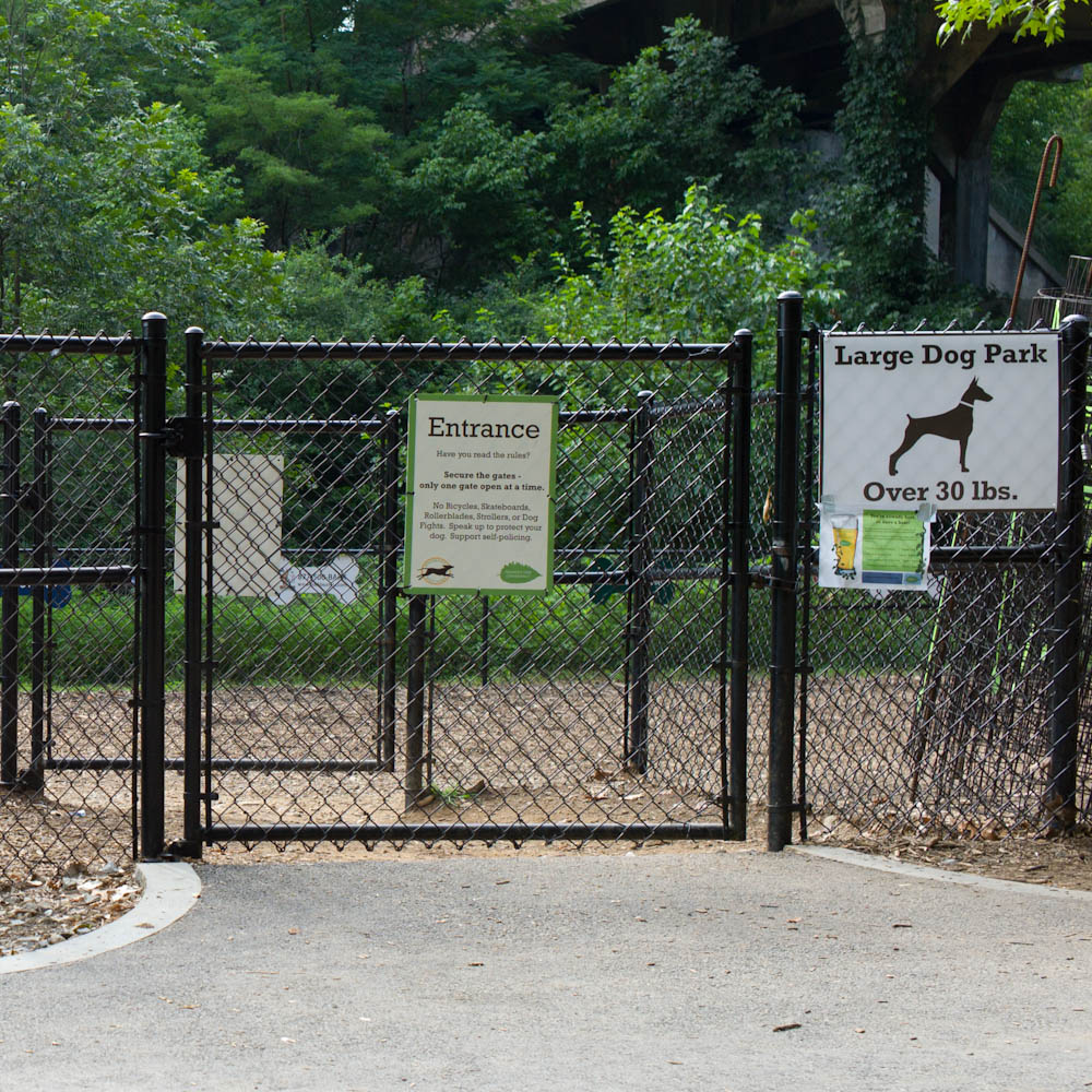 Photo: Piedmont Dog Park gate for larger dogs, by Barend Jan de Jong (Leica M9, Summicron 35mm).