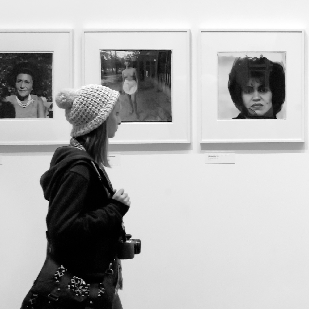 Photo below: Some of the pictures by Diane Arbus at the MoMa, by Barend Jan de Jong (Leica M9, Summicron 28mm).