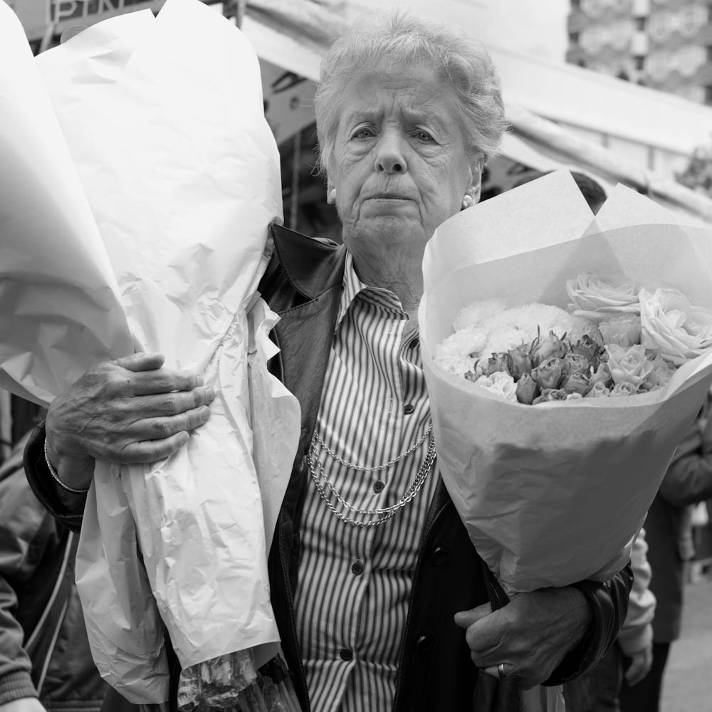 Photo: Buying Flowers at the Market in Rotterdam, by Barend Jan de Jong (Leica M9, Summicron 35mm).