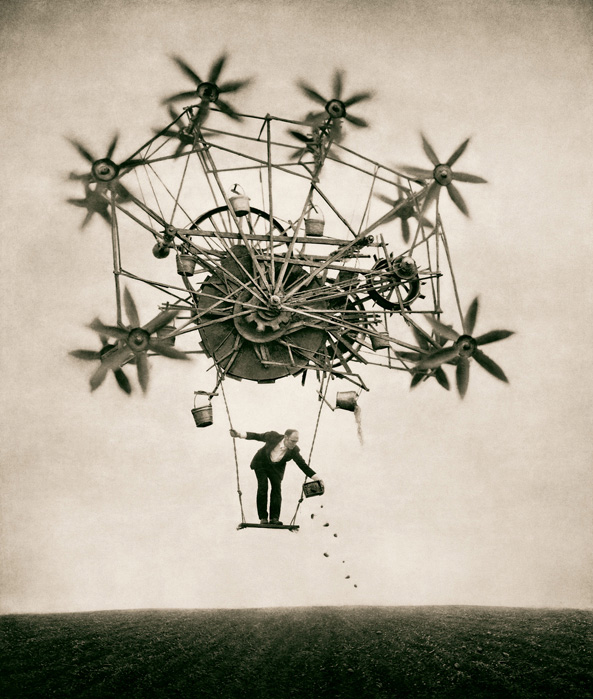 Photo: The Sower (2001), by Robert and Shana ParkeHarrison.