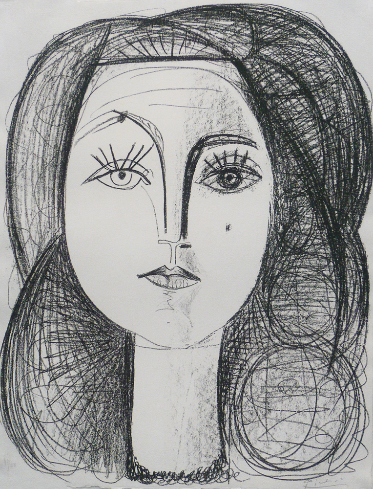 Drawing: Françoise, Pablo Picasso, 1946.