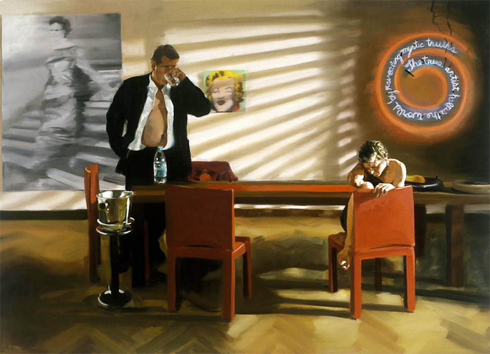 Photo: Krefeld Project: Dining Room Scene #2, 2003, Eric Fischl.