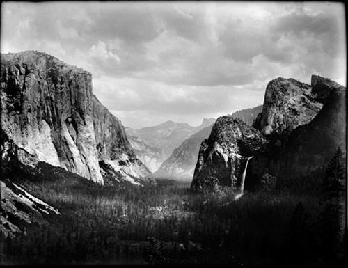 Photo: Yosemite (by Ansel Adams ??).