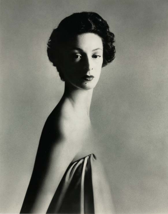 Marella Agnelli, New York studio, December 1953, by Richard Avedon