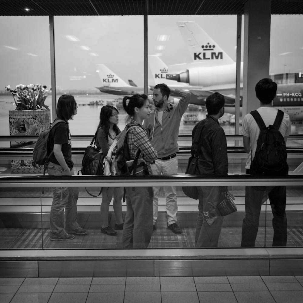 Photo: Killing Time at Airports - Amsterdam Schiphol - 2, by Barend Jan de Jong (Leica M9, Summicron 35mm).