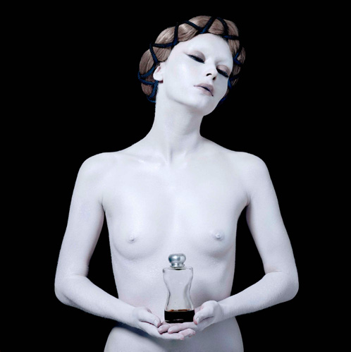 "Photo: Mary Magdalene, Protector of the perfumers, from the series ""Protectors"" by Sabine Pigalle."