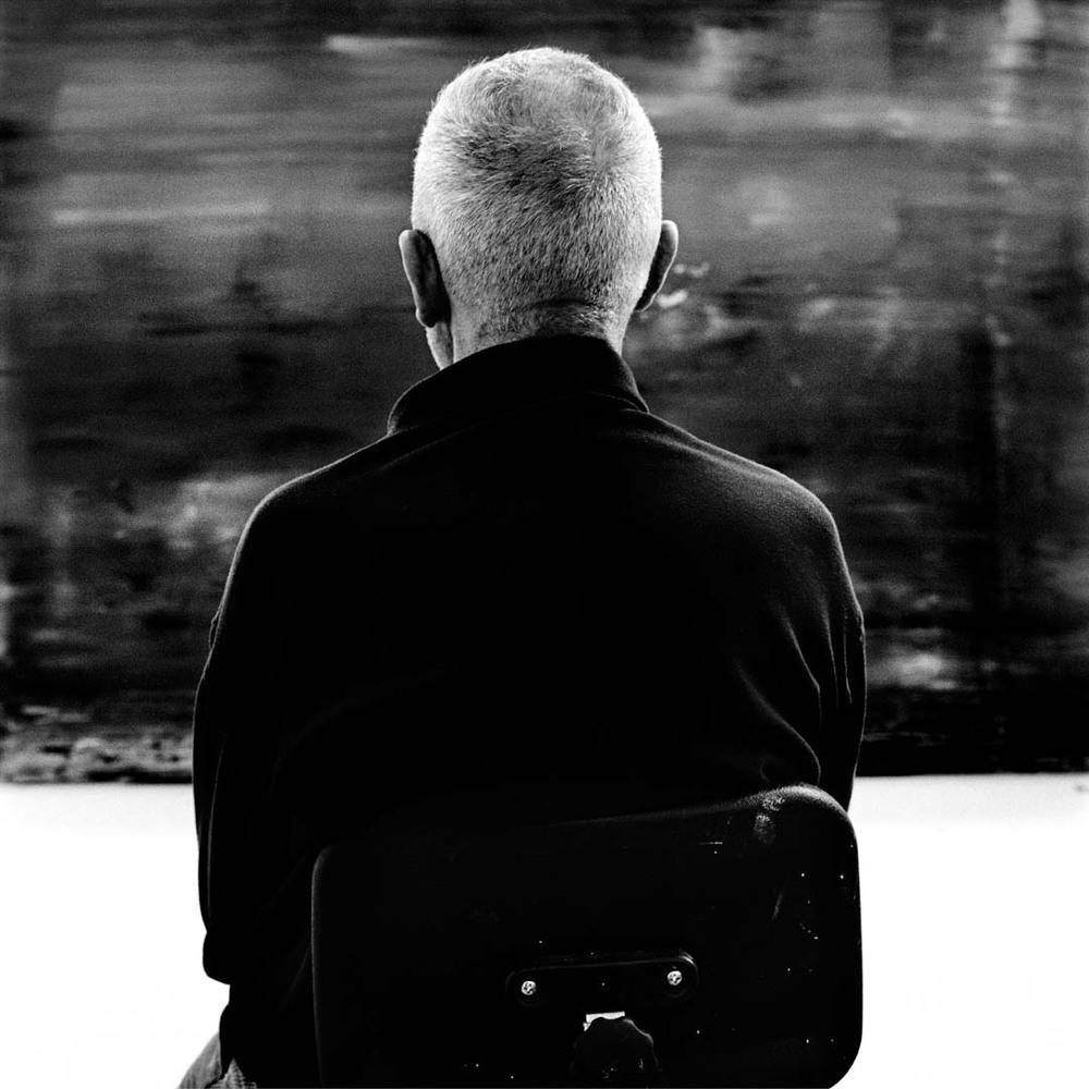 Photo: Gerhard Richter, Keulen 2010, © Anton Corbijn.