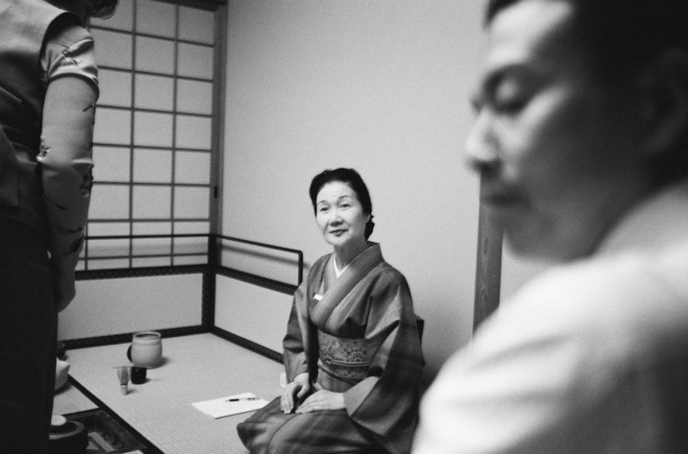 Japanese Tea Ceremony, copyright by Paul Coates.